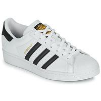 kengät Matalavartiset tennarit adidas Originals SUPERSTAR VEGAN Valkoinen / Musta