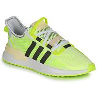kengät Miehet Matalavartiset tennarit adidas Originals U_PATH RUN Valkoinen / Keltainen
