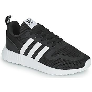 kengät Pojat Matalavartiset tennarit adidas Originals MULTIX C Musta / Valkoinen