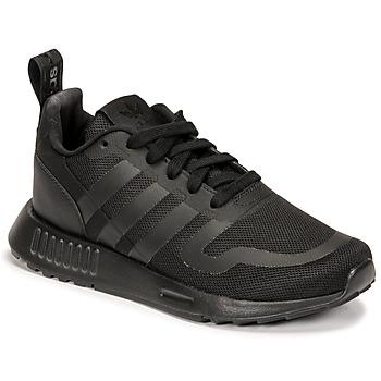kengät Pojat Matalavartiset tennarit adidas Originals MULTIX J Musta