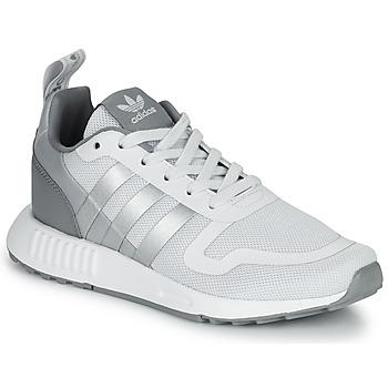 kengät Pojat Matalavartiset tennarit adidas Originals MULTIX J Harmaa