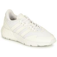 kengät Lapset Matalavartiset tennarit adidas Originals ZX 1K BOOST J Valkoinen