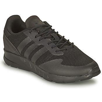 kengät Pojat Matalavartiset tennarit adidas Originals ZX 1K C Musta