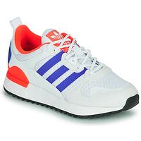 kengät Lapset Matalavartiset tennarit adidas Originals ZX 700 HD J Sininen / Valkoinen / Punainen