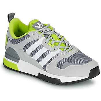 kengät Lapset Matalavartiset tennarit adidas Originals ZX 700 HD J Harmaa / Vihreä