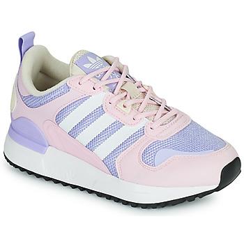 kengät Tytöt Matalavartiset tennarit adidas Originals ZX 700 HD J Vaaleanpunainen / Clear