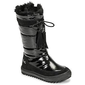 kengät Tytöt Talvisaappaat Primigi FLAKE GTX Musta