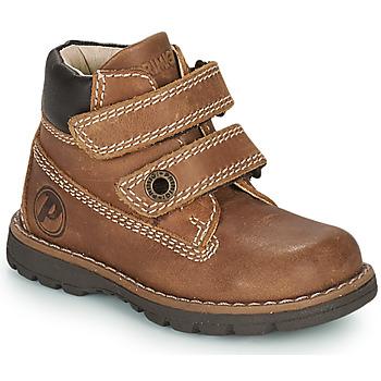 kengät Pojat Bootsit Primigi PLAY CASUAL Ruskea