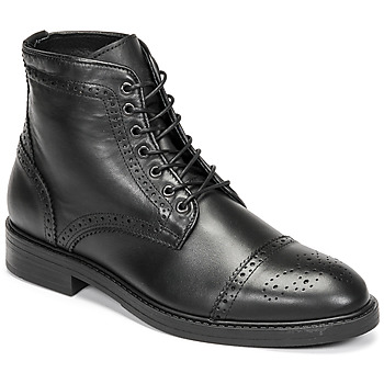 kengät Miehet Bootsit Selected BROGUE Musta