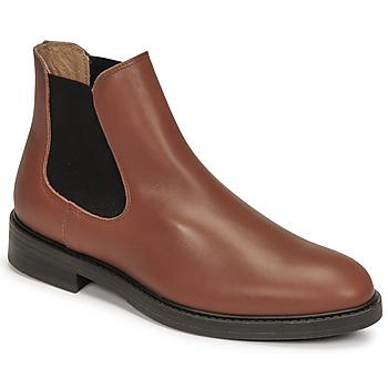kengät Miehet Bootsit Selected CHELSEA Konjakki
