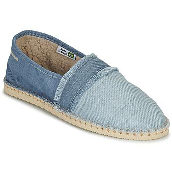 kengät Espadrillot Havaianas ESPADRILLE FUR Sininen