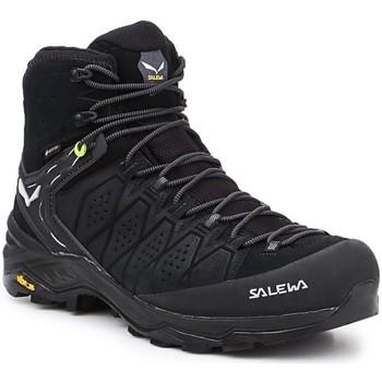 kengät Miehet Vaelluskengät Salewa MS Alp Trainer 2 Mid GTX 61382-0971 black