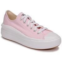 kengät Naiset Matalavartiset tennarit Converse CHUCK TAYLOR ALL STAR MOVE SEASONAL COLOR OX Vaaleanpunainen