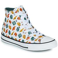 kengät Lapset Korkeavartiset tennarit Converse CHUCK TAYLOR ALL STAR DINO DAZE HI Valkoinen / Vihreä / Oranssi