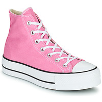 kengät Naiset Korkeavartiset tennarit Converse CHUCK TAYLOR ALL STAR LIFT SEASONAL COLOR HI Vaaleanpunainen