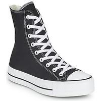 kengät Naiset Korkeavartiset tennarit Converse CHUCK TAYLOR ALL STAR LIFT CORE CANVAS X-HI Musta