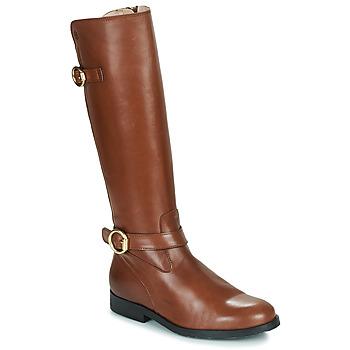 kengät Tytöt Saappaat Acebo's 9904-CUERO-T Ruskea
