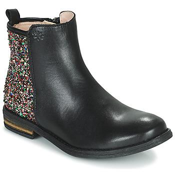 kengät Tytöt Bootsit Acebo's 9917VE-NEGRO-T Musta
