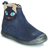 kengät Tytöt Bootsit Acebo's 3159SU-MARINO Laivastonsininen