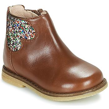 kengät Tytöt Bootsit Acebo's 3202-CUERO-C Ruskea