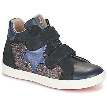 kengät Tytöt Korkeavartiset tennarit Acebo's 5541SX-MARINO Laivastonsininen