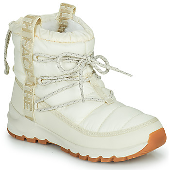 kengät Naiset Talvisaappaat The North Face W THERMOBALL LACE UP Vaalea