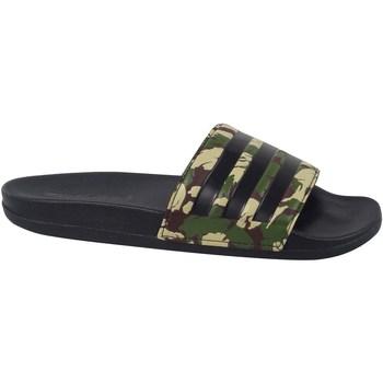kengät Miehet Rantasandaalit adidas Originals Adilette Comfort Slides Vihreät, Beesit