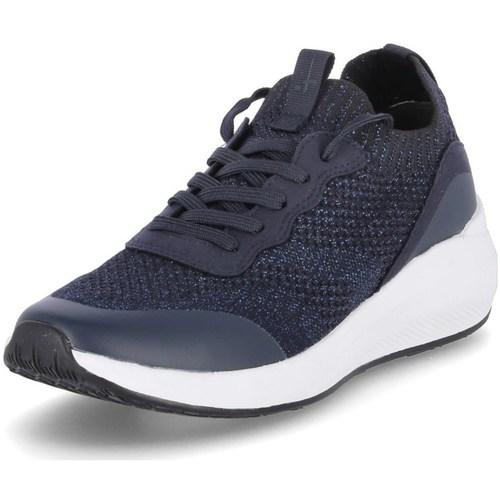 kengät Naiset Juoksukengät / Trail-kengät Tamaris 112375826824 Vaaleansiniset