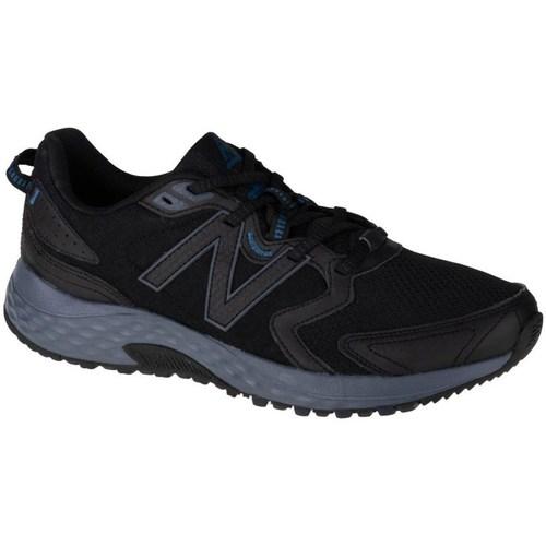 kengät Miehet Matalavartiset tennarit New Balance 410 Mustat