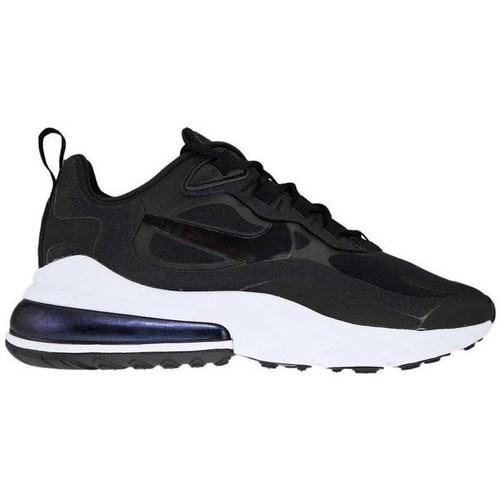 kengät Naiset Matalavartiset tennarit Nike Air Max 270 React Mustat
