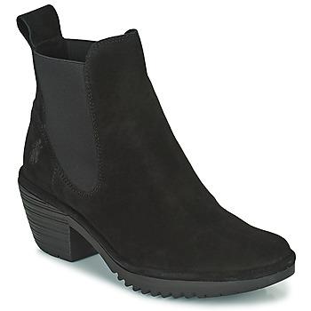 kengät Naiset Nilkkurit Fly London WASP Musta