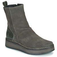kengät Naiset Bootsit Fly London RENO Harmaa
