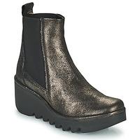 kengät Naiset Nilkkurit Fly London BAGU Harmaa / Kulta