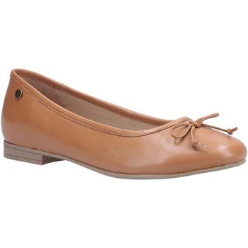 kengät Naiset Balleriinat Hush puppies  Tan