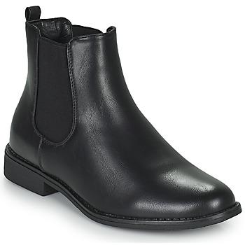 kengät Naiset Bootsit Moony Mood PIRYL Musta