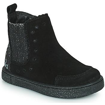 kengät Tytöt Bootsit Mod'8 BLANOU Musta / Glitter
