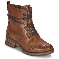 kengät Naiset Bootsit Mustang 1293501 Ruskea