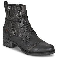 kengät Naiset Bootsit Mustang 1229508 Musta