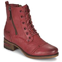 kengät Naiset Bootsit Mustang 1229513 Punainen