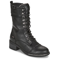 kengät Naiset Saappaat Mustang 1402501 Musta