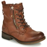 kengät Tytöt Bootsit Mustang 5026-623-308 Ruskea