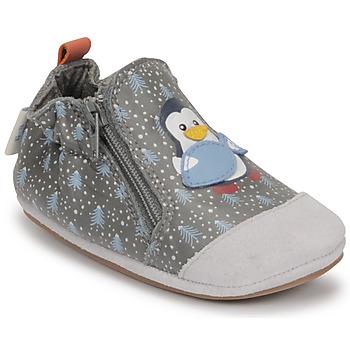 kengät Pojat Vauvan tossut Robeez BLUE PINGUINS Harmaa