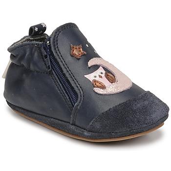 kengät Tytöt Vauvan tossut Robeez NICE OWL Laivastonsininen