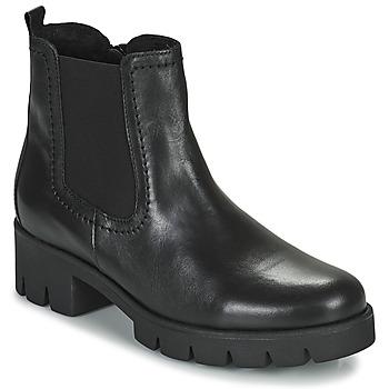 kengät Naiset Nilkkurit Gabor 7171027 Musta