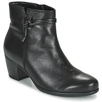 kengät Naiset Nilkkurit Gabor 7552227 Musta