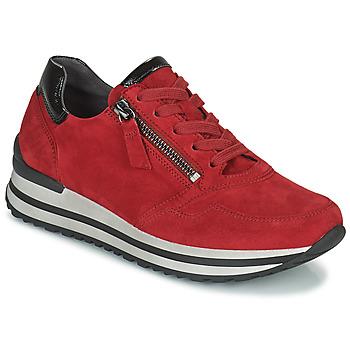 kengät Naiset Matalavartiset tennarit Gabor 7652868 Punainen