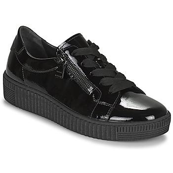 kengät Naiset Matalavartiset tennarit Gabor 7333497 Musta