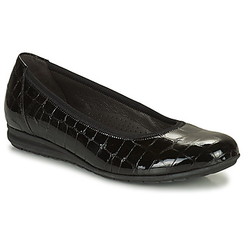 kengät Naiset Balleriinat Gabor 7262087 Musta