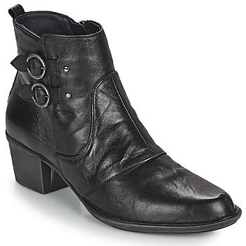 kengät Naiset Nilkkurit Dorking DALMA Musta