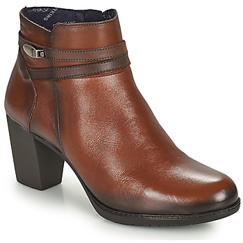kengät Naiset Nilkkurit Dorking EVELYN Ruskea